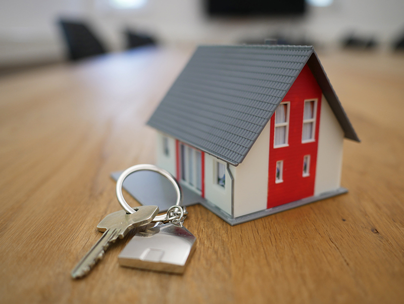 fair housing house keychain